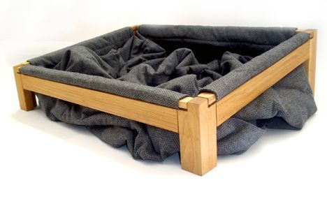 Dog bed so they can dig around in the blankets and get comfy. Washable and no stuffing everywhere!!