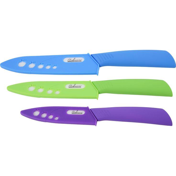 Piranha Chefware Solutions 3-piece Knife Set