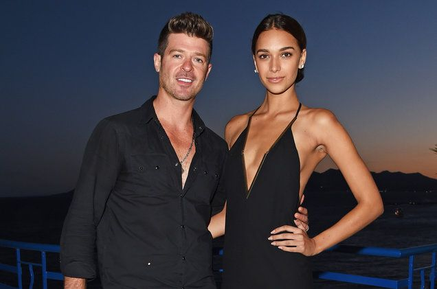 Robin Thicke is the father again  The 40-year-old