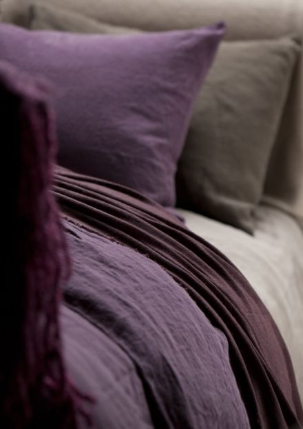 BALMUIR Bed Linen, Purple - Balmuir - Exclusive Collection - Love the purple and grey