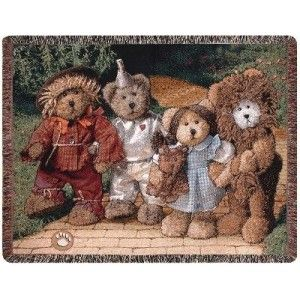 Boyds Bear Display by Sarah - I adore Boyd's bears. You can come to my house, Dorothy, but you wouldn't be in Kansas anymore.