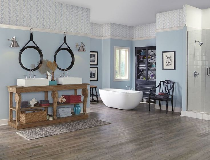 Best 25+ Blue Bathroom Paint Ideas On Pinterest
