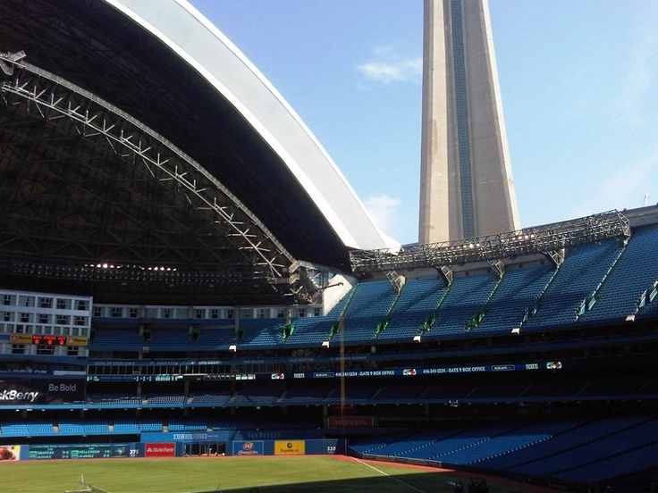 It'll always be the SkyDome to me...
