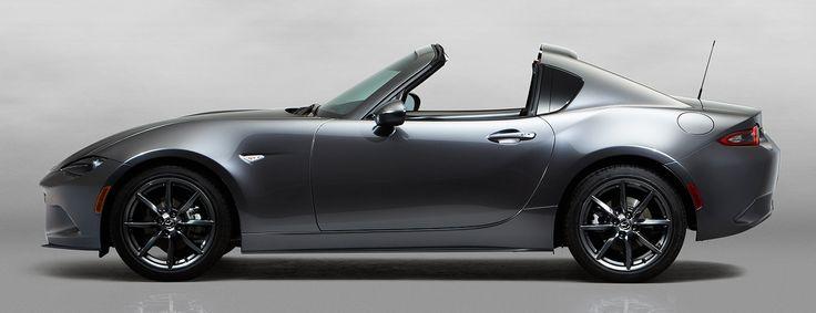 NY Auto Show Mazda MX-5 RF Miata Hardtop Convertible 2017