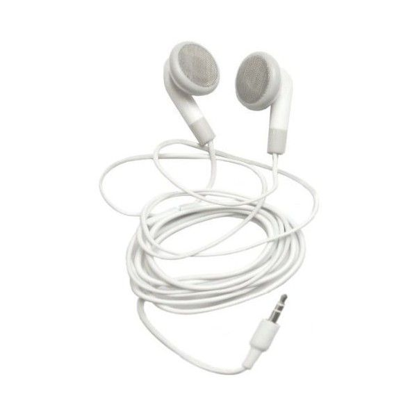 3.5 mm White Earbud Headphones for Amazon Kindle 2 E-Book Reader ($7.30) ❤ liked on Polyvore featuring fillers, accessories, electronics, other and music