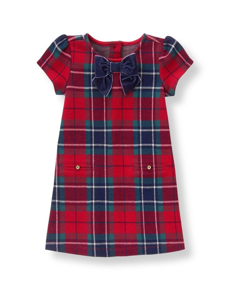 This is the PERFECT Christmas dress! It's so hard to find Christmas dresses for girls with sleeves.