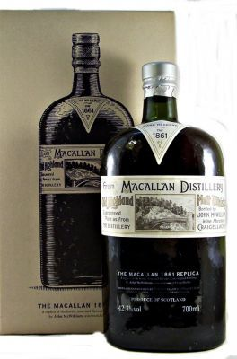 The Macallan 1861 Replica series Single Malt Scotch Whisky 42.7% 70cl