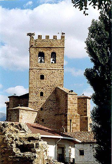 Iglesia de Santa María la Mayor, Ólvega. Soria.