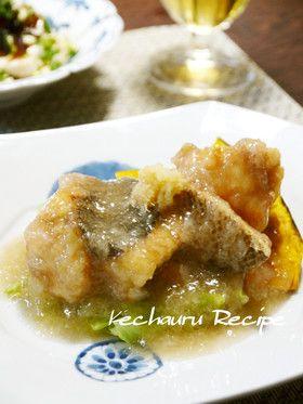 白身魚のみぞれあんかけ by ケチャ&ウル [クックパッド] 簡単おいしい ...
