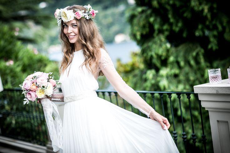 Легкое платье принцессы от Pronovias / Light princess wedding dress by Pronovias