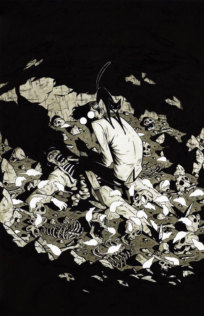 Jules' Blog - Illustrations by Julian Callos: Love for Lovecraft