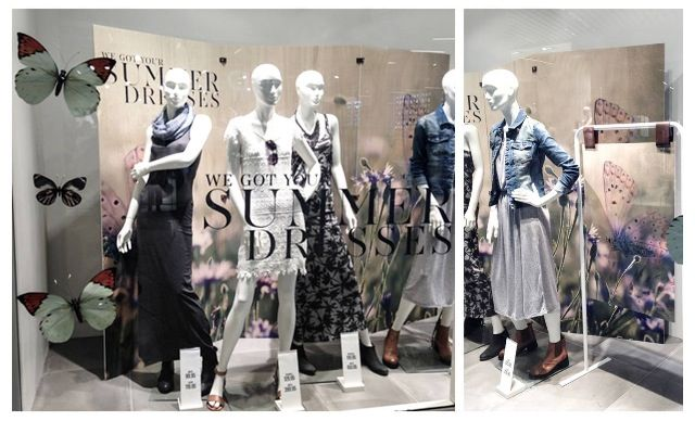 Window campaign for ONLY - summer 2015