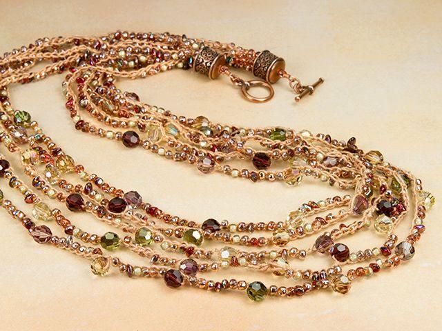 473 Best Crochet Jewelry Images On Pinterest Arm Candies Crochet