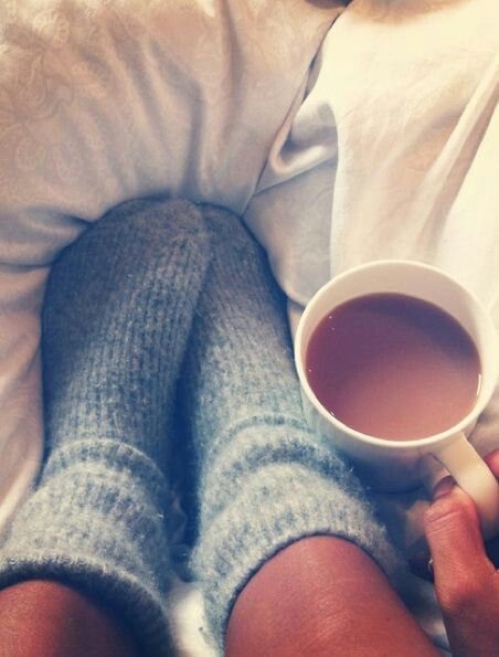 cozy morning coffee - This was me this morning :) I <3 cooler weather