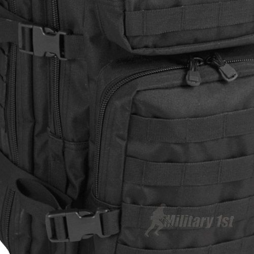 Mil-Tec MOLLE US Assault Pack Large Black | Backpacks & Rucksacks | Military 1st