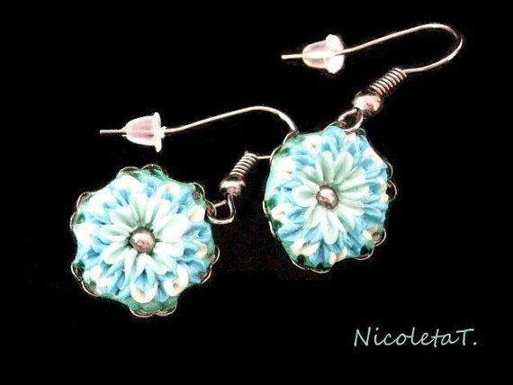 Blue flowers by NicoletaT on Etsy, €8.50
