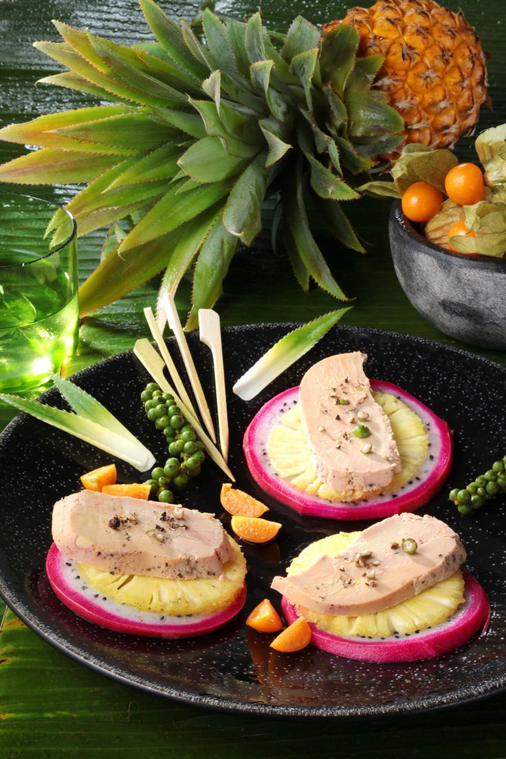 Avec le Foie Gras, partons de découverte en découverte exotique… #foiegras #recette