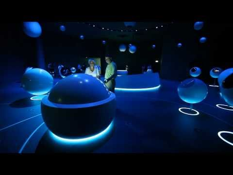 CERN New Interactive Exhibition Center #digitalsignage #interactive