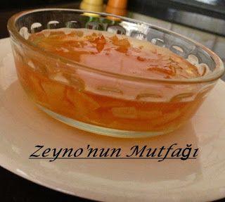 ::: Zeyno'nun Mutfağı :::.: Portakal Kabuğu Reçeli