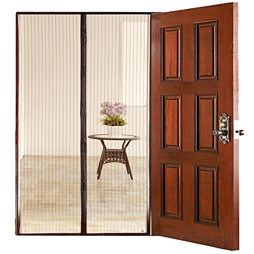 1000 ideas about mesh screen door on pinterest mesh for Retractable screen door replacement magnet