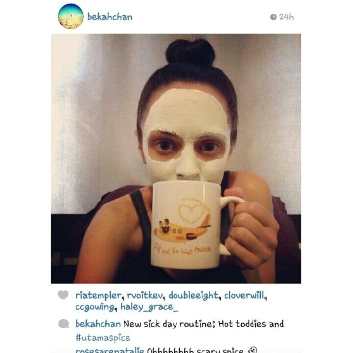 Thank you Beka for sharing this photo of you using Utama Spice face mask ♥