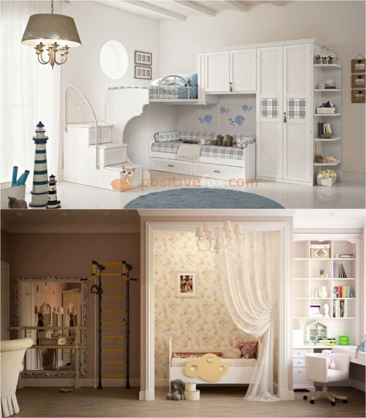 Classic Kids Room Ideas. Classic Interior Design Ideas. Explore more Classic Kids Room Ideas on https://positivefox.com   #classicinteriordesign #trends #furniture #interiordesign #interior #interiordesignideas #ideas #colors #home #decor #classickidsroomideas  #room #homedecor #classicstile #whitekidsroomideas #classickidsroom #kidsroom