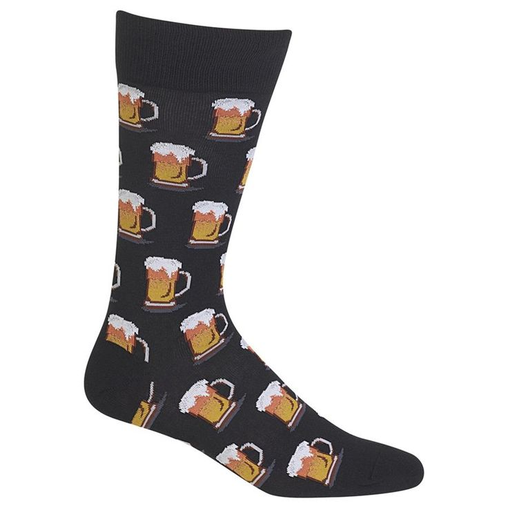 Chilling with a nice cold beer is a great way to relax after a long day          Size:Fits men's shoe size 6 -12.5        Crew height       ...