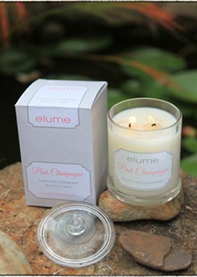 Elume Favourites Pink Champagne Candle