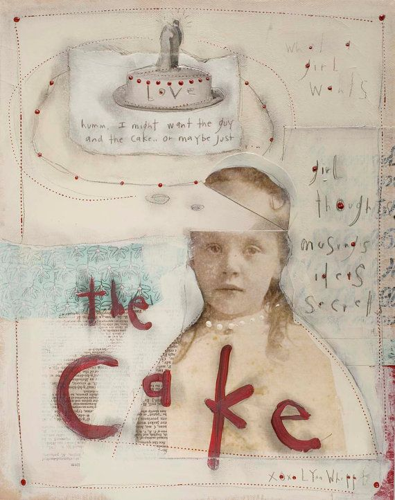 The Cake by LynnWhipple on Etsy, $45.00