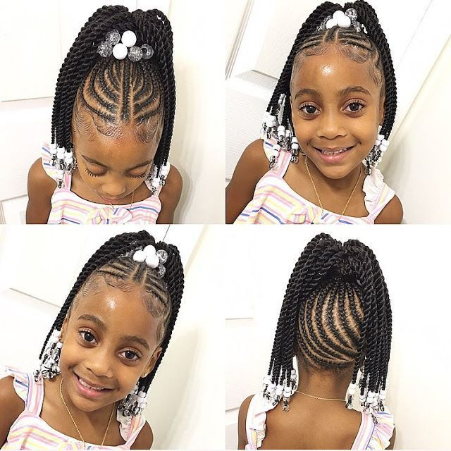 5 Cute Black Kids Hairstyles For Children S Day Black Kids Hairstyles Lil Girl Hairstyles Kids Braided Hairstyles