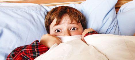 Las pesadillas y terrores nocturnos de los niños.