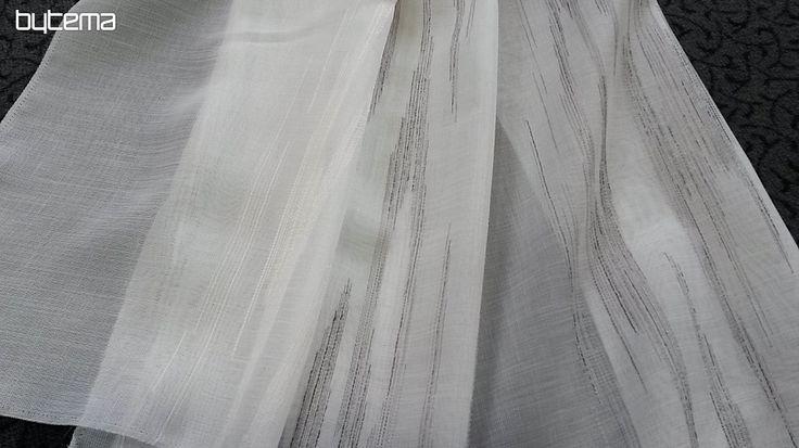 Luxusní designová záclona FLAMENCO výška 300 cm