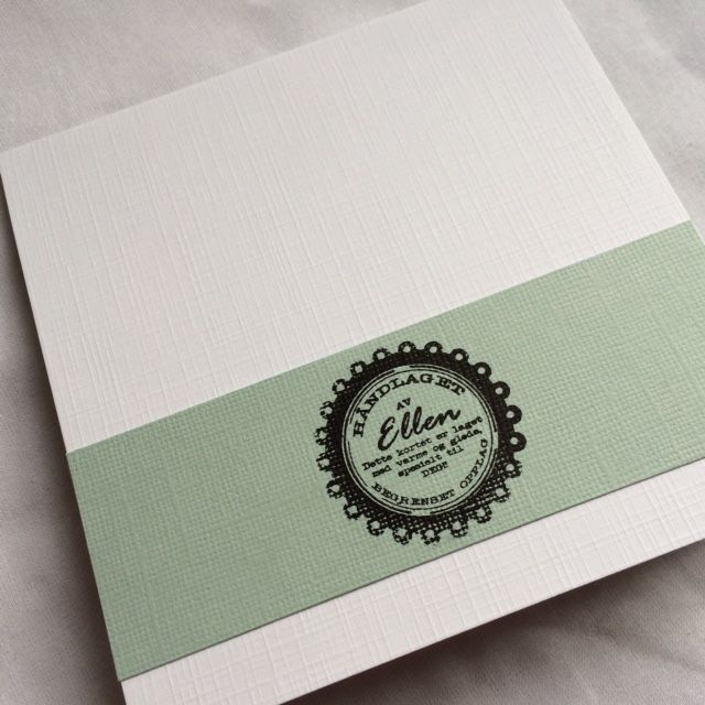 Wedding card - back