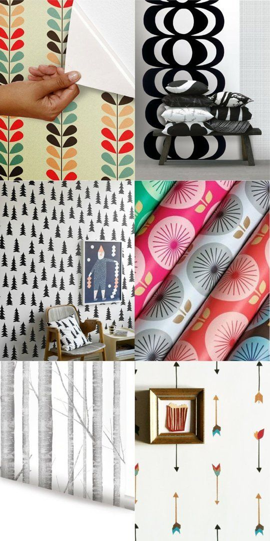 Shopping Resources: Decals, Removable Wallpaper, Washi Tape & Contact Paper — Apartment Therapy's Home Remedies | Apartment Therapy