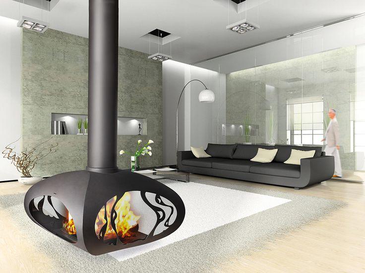 les 71 meilleures images du tableau po les bois wood stoves sur pinterest po les bois. Black Bedroom Furniture Sets. Home Design Ideas