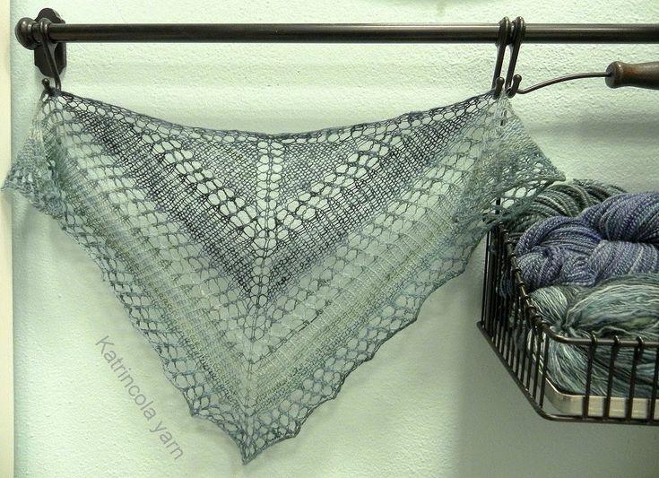 Jak se vypíná pletená krajka, How pin knitted lace