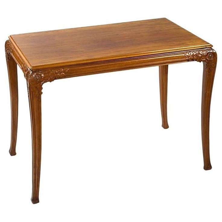 Léon Jallot French Art Nouveau Table 1
