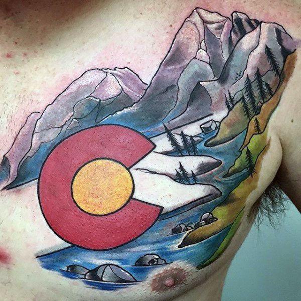 50 Colorado Tattoos For Men