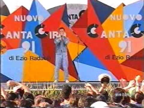 ▶ William Povia Con rabbia 07/07/1991 Cantagiro Rai 2 Taranto - YouTube
