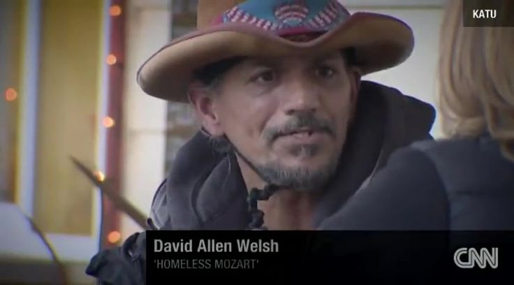 A Homeless Man's Musical Gift Moves Listeners to Tears - Music Videos