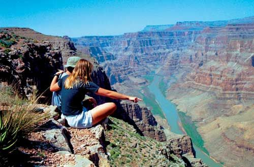 """The Grand Canyon. Is it weird that I still want to go and """"ride DONKEYS to the bottom!!"""" because of Rugrats?  You too huh?... thought so."""