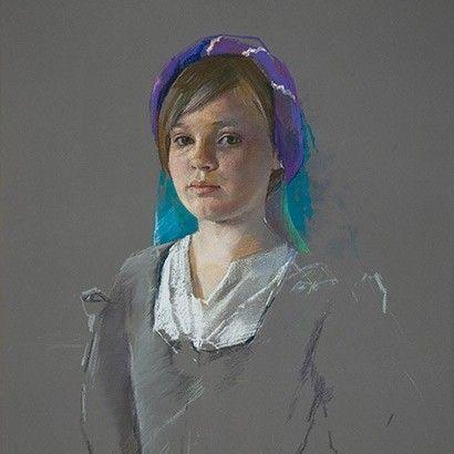 Jeff Stultiens 'The Artist's Daughter Ellen'