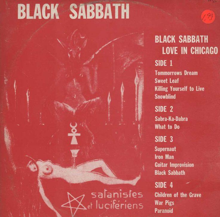 Black Sabbath - Love In Chicago 2LP RARE