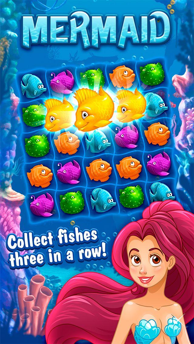 App Shopper: Mermaid match-3 (Games)
