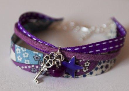 Bracelet liberty et breloques