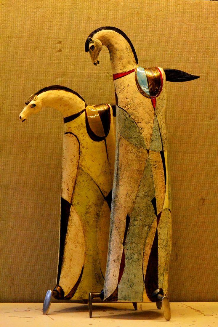Apolon and Atila by Ivan Angelov Panov