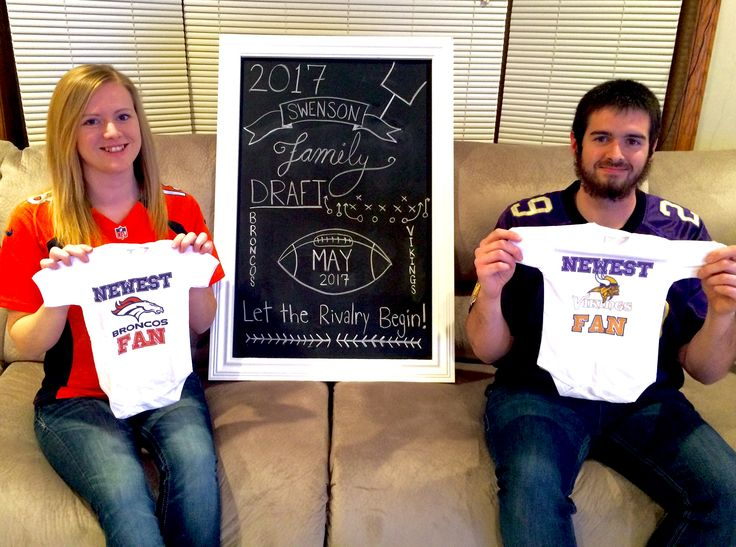 86 best Baby Cards images – Football Birth Announcements