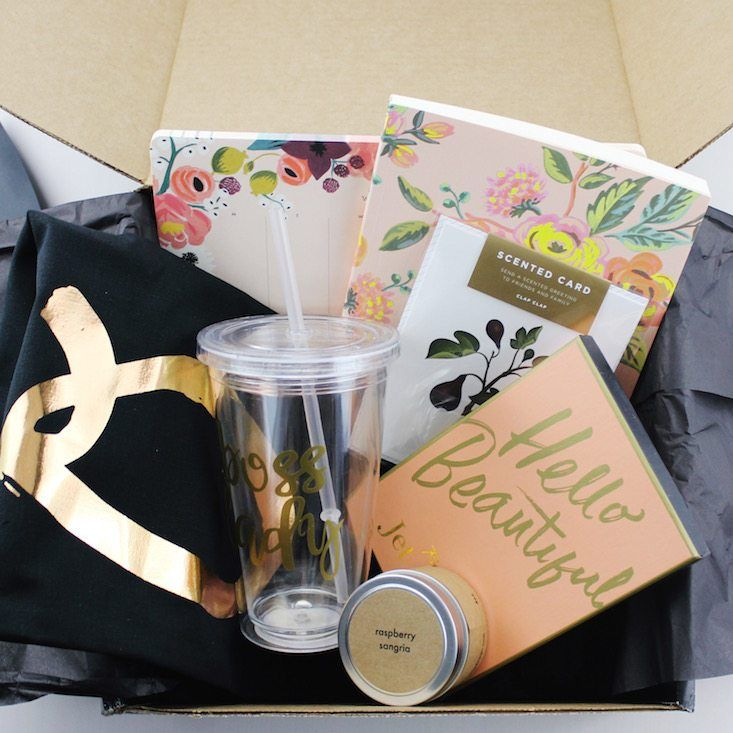 Subscription boxes for women clothing