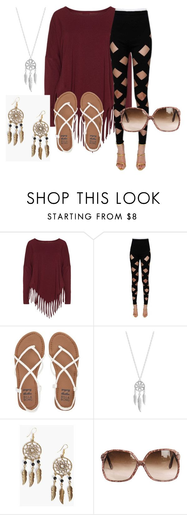 """""""Feeling like A dream"""" by constance-jean-pacheco on Polyvore featuring Boris, Balmain, Billabong, Lucky Brand and Boohoo"""
