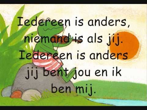 Liedje iedereen is anders
